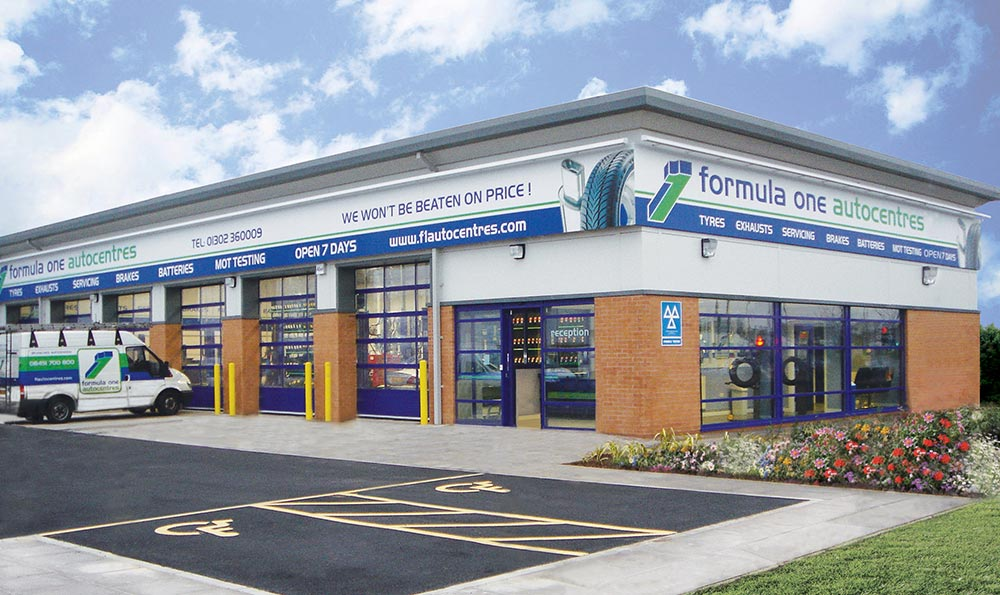 Formula One Autocentres are expanding to more sites in the UK