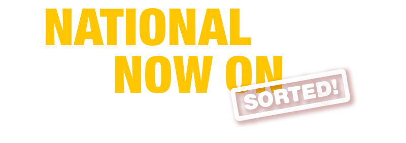 National Sale Now On!