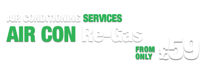 Quick clear your windscreen on colding mornings. Air Con Re-Gas only £48