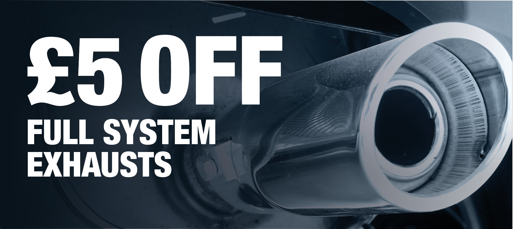 Save £5 on Full System Exhausts at Formula One Autocentres