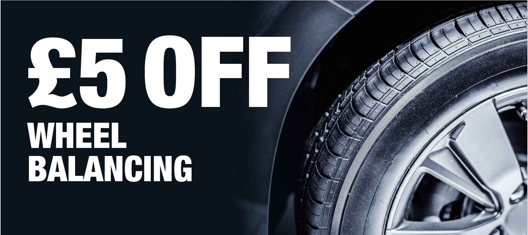 Save £5 on Wheel Balancing at Formula One Autocentres